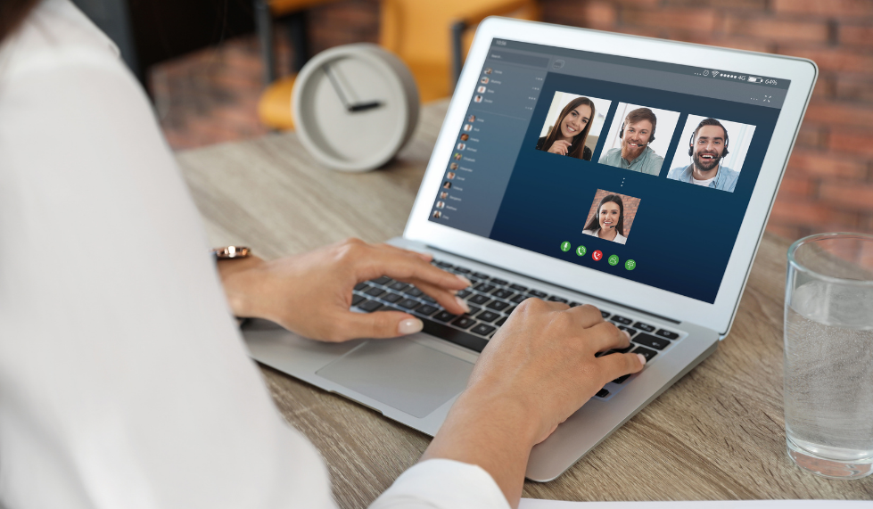 Real-time video conferencing is just one of the benefits of digital communication in the workplace